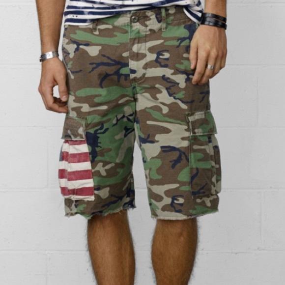 Denim   Supply Ralph Lauren Other - Ralph Lauren Denim   Supply Co. Camo  Shorts 10afaf141e9ea